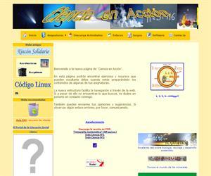 Ciencia en Acción, ejercicios y recursos educativos de Física, Química y Matemáticas