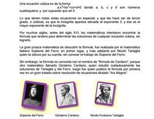 Los polinomios tienen su historia...