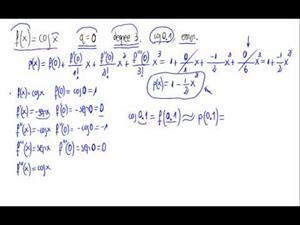 Polinomio de Taylor y error