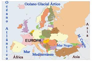 Paisajes de Europa (6º Primaria)