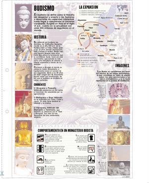 Budismo. Láminas de El Mundo