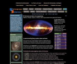 El Universo. Astronomía Educativa