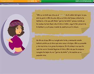 El descubrimiento de Alba. Recurso educativo para Lengua y Literatura