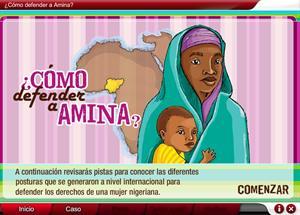 ¿Cómo defender a Amina?