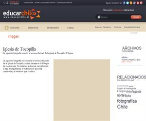 Iglesia de Tocopilla (Educarchile)