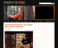Scientific Speed Reading: How to Read 300% Faster in 20 Minutes   The Blog of Tim Ferriss