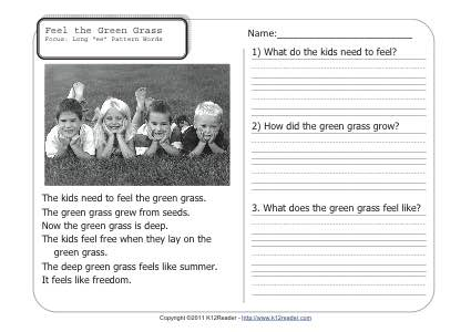 Feel the Green Grass