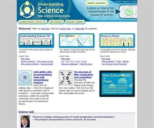 Understanding Science: artículos y consejos para clase de ciencias