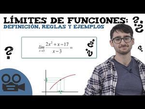 Límites de funciones: definición, reglas y ejemplos