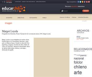Margot Loyola (Educarchile)