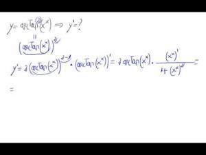 Derivada - función elevada a función