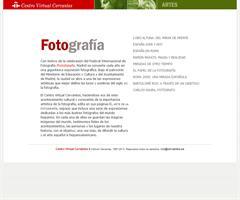 El arte de la fotografía (Centro Virtual Cervantes)