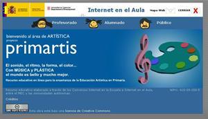 Primartis: recurso educativo para Educación Artística en Primaria