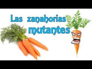 Las zanahorias mutantes (Experimentos Caseros para niños)