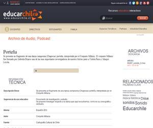 Porteña (Educarchile)