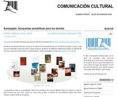 Sanspapier, búsquedas semánticas para los ebooks