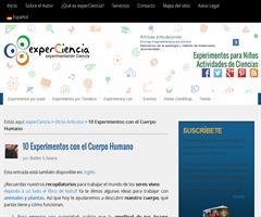 Diez experimentos con el cuerpo humano