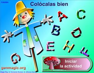 Divertido juego para aprender la letras