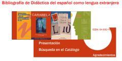 Bibliografía de Didáctica del español como lengua extranjera
