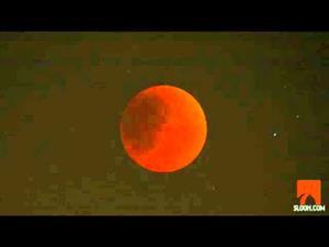 El eclipse lunar (15 junio 2011)