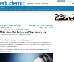 30 Surprising (And Controversial) Ways Students Learn | Edudemic
