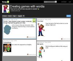 """Experiencia """"Wordia: creamos juegos de vocabulario en la red"""" para #redesedu12"""