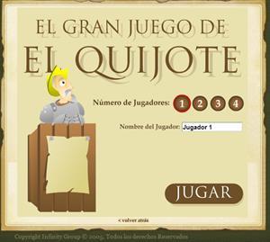 El gran juego del Quijote