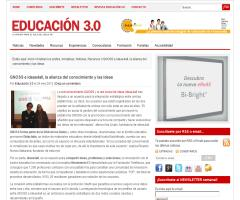 GNOSS e ideas4all, la alianza del conocimiento y las ideas (Educación 3.0)