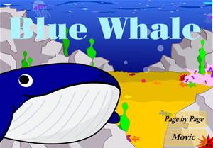 Blue Whale,  una narración animada en inglés  (kidsdata.yahoo.co.kr)