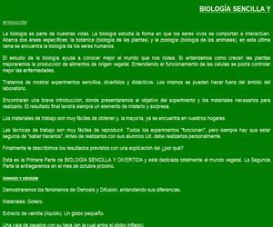 Biología sencilla y divertida (maestrasjardineras.com.ar)