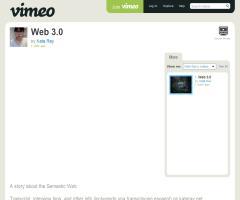 Documental sobre la Web 3.0 / Vimeo