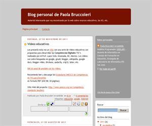 Blog personal de Paola Bruccoleri