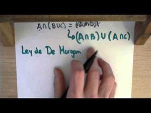 24 Teoria de Conjuntos || Ley de De Morgan