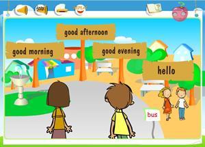 When do we use...? Greetings from Smiling Town II: comprensión de inglés para 1º ciclo de Primaria