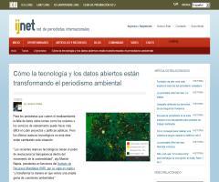 Cómo la tecnología y los datos abiertos están transformando el periodismo ambiental (ijnet)