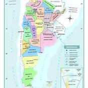 Mapas políticos de la Argentina