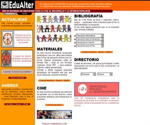 edualter.org: Red de recursos para la paz y la interculturalidad