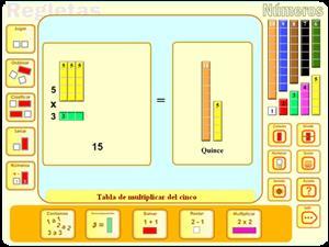 Practica las tablas de multiplicar en la red (Tinglado)