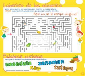 5 juegos para niños para aprender a comer sano (AECC)