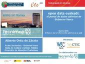 open data euskadi: el portal de datos abiertos de Gobierno Vasco