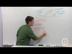 Remote Interior Angles