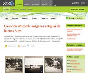 Colección Witcomb: imágenes antiguas de Buenos Aires