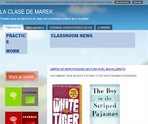 La clase de Marek: interesantes recursos y enlaces para centros educativos bilingües (inglés)