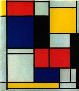 Crea tus propio cuadro al estilo Mondrian