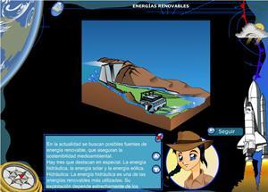 """""""Energías renovables"""" (Energías renovables I): un recurso educativo de Geografía e Historia  para Educación Primaria (cursos 5º y 6º)"""