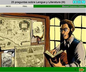 25 preguntas sobre Lengua y Literatura (III). Manuel Guerrero Gómez
