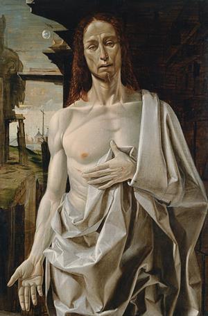 Las manchas de la Luna en el 'Cristo resucitado' de Bramantino