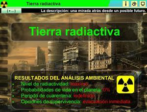 Tierra radiactiva. La descripción