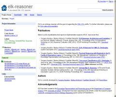 elk-reasoner: A Java-based OWL 2 EL reasoner