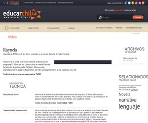 Rayuela (Educarchile)